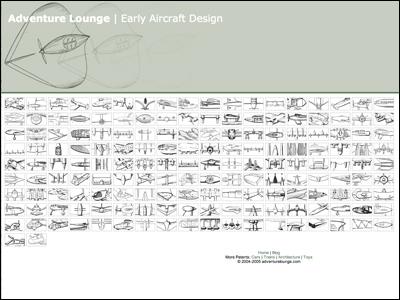 adventurelounge.com - Early Aircraft Design