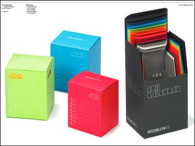 Paul Betowski - Graphic Design &  Art Direction calendar