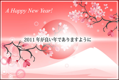 New Year celebration worldwide!