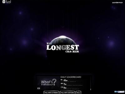 The World's Longest Christmas Cracke