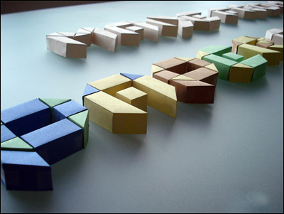 クリスマス 折り紙 : 折り紙 組み合わせ : mif-design.com