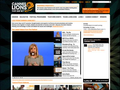 CANNE LION 2011 カンヌ国際広告祭2011