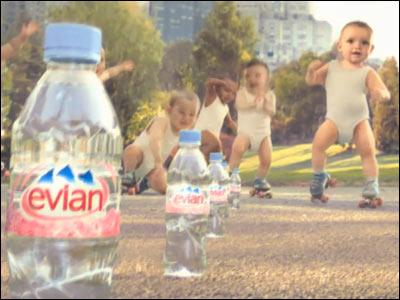 Live young the movie   エビアン evian