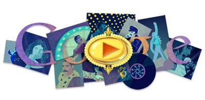 Google フレディ・マーキュリー生誕65周年