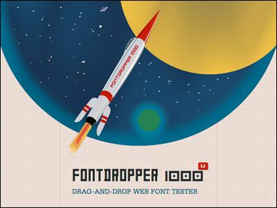 FontDropper 1000