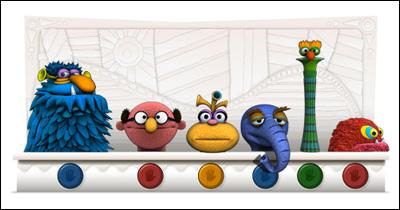 Google ジム・ヘンソン生誕75周年