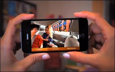 The Nissan Versa iAd Demo Video