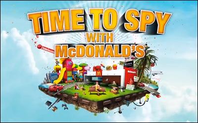 Time To Spy Hamburglar!