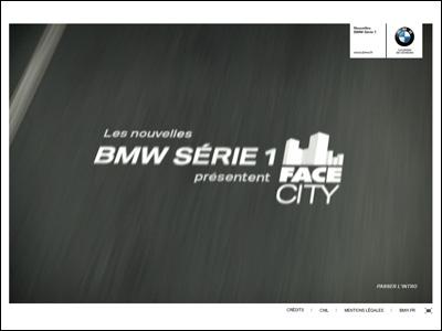 BMW Série 1 - Face City