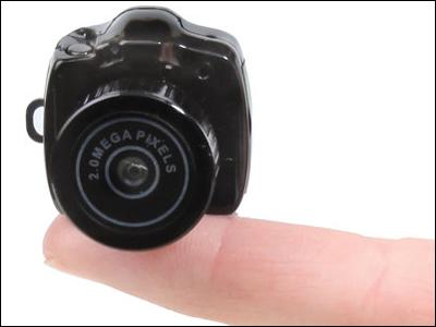 The World's Smallest Camera.