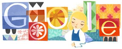 Google メアリー ブレア(Mary Blair)生誕 100 周年