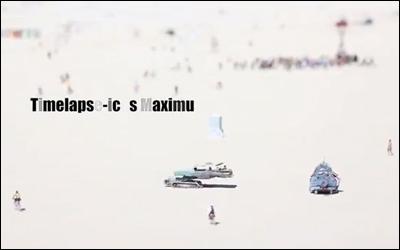 Timelapse-icus Maximus HD Burning Man 2011