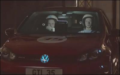 Volkswagen Golf GTI Edition 35 -- Vanishing car