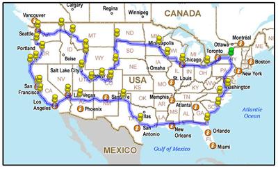 Drivelapse USA