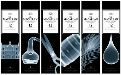 Nick Veasey unwraps The Macallan for the holiday season