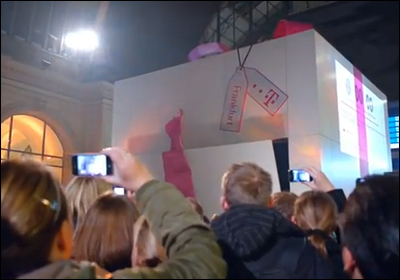 Deutsche Telekom's Hologram Christmas Surprise with Mariah Carey