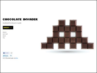 Chocolate Invader