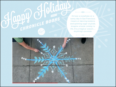 Holiday 11 : Chronicle Books