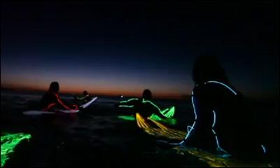 Strongbow Neon Night Surfing Bondi