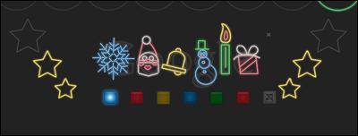 Google クリスマス ハッピーホリデー「ホリデーシーズン」
