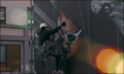 Mission Impossible : Ghost Protocol Aerosol Mural