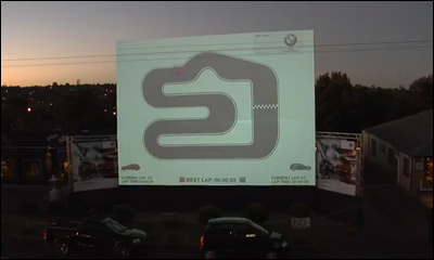 BMW Interactive Projection