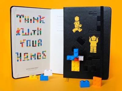 LEGO x Moleskine Notebooks Collection