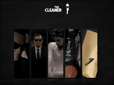 The cleaner by Axe Shower Gel