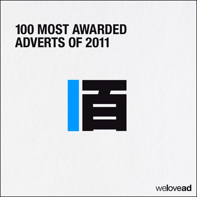 100 Most Awarded Adverts of 2011