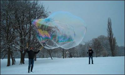 Snow Bubbling