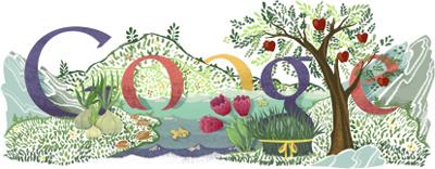 Google Novruz bayramınız mübarək olsun!