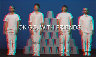 OK Go - White Knuckles - Official 3D Video