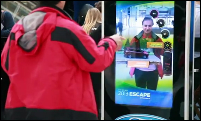2013 Ford Escape - Kinect Experience