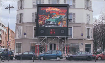 The Ford Active Park Assist challenge. The Parisian pinball parking game.