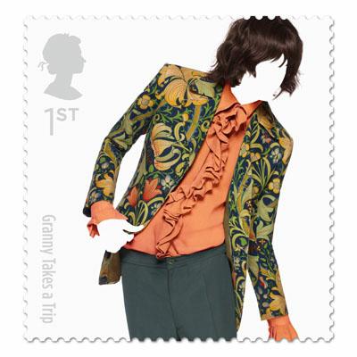 Great British Fashion Stamp Set