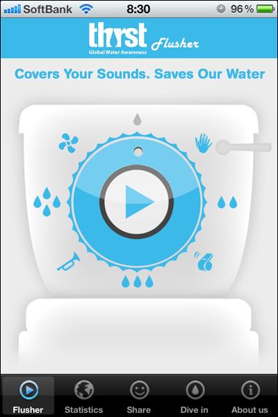 Thirst-flusher