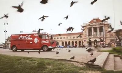 Coca-Colin Kamion radosti u Zagrebu