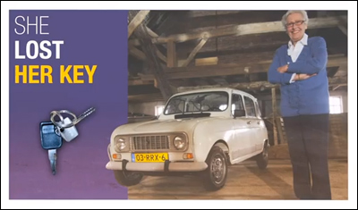 Facebook Storytelling - Oma Hilda's Renault 4