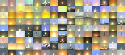 Grand Finale - Video of all 135 Space Shuttle launches
