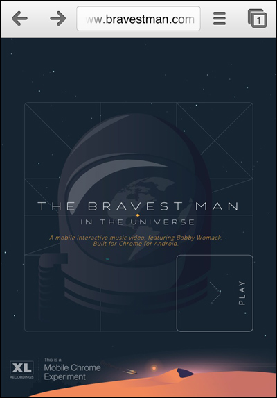 The Bravest Man in the Universe