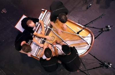 One Direction - What Makes You Beautiful (5 Piano Guys, 1 piano)