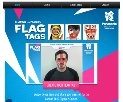 Sharing The Passion FLAG TAGS