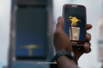 Samsung Mobile USA - Carmelo Anthony Uses S Beam