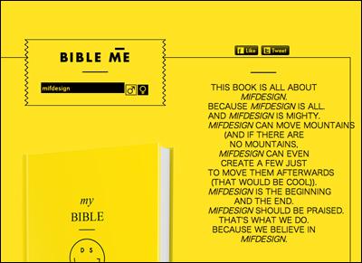 Do something good: Bible Me