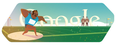Google 砲丸投げ(ロンドンオリンピック2012)
