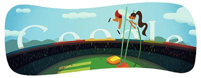 Google 棒高跳び(ロンドンオリンピック2012)