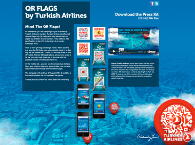 QR FLAGS by Turkish Airlines