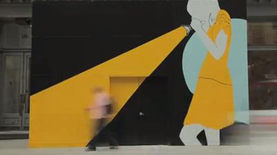 The Tiffany Soho Mural by Natasha Law