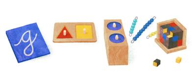 Google モンテッソーリ教育の生みの親、イタリアの医学博士マリア・モンテッソーリ生誕142周年