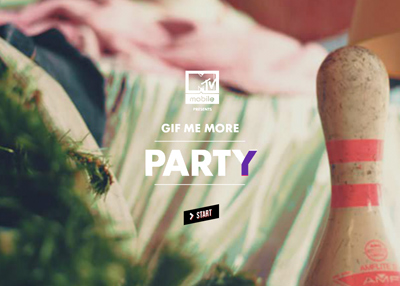 The Gif Me More Party - with Death Grips